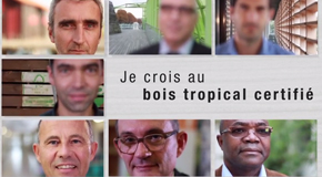 I trust certified tropical timber - Le commerce du Bois